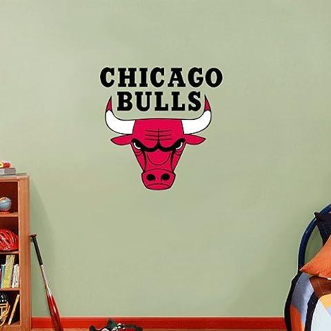 Chicago Bulls NBA Basketball Home Decor-Adesivo da