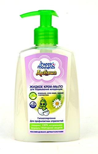 "Flüssige Seife Babyseife ""Drakoscha"", 250 ml Крем-мыло для подмывания младенцев Дракоша"