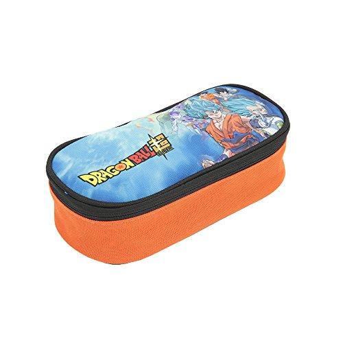 Dragon Ball 18 Bustina Ovale Funda para mochila, Varios colores (Stamp