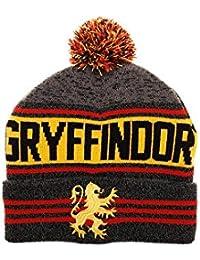 BioWorld - Harry Potter House Gryffindor - Gorro de punto con Pom