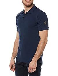 Belstaff Hombres camisa de polo Slim fit granard Indigo