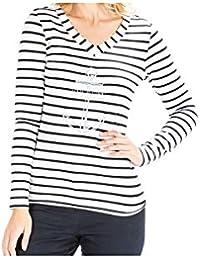 5a2978ec5f3 Terre de Marins Tee-Shirt marinière ASPA pour Femme