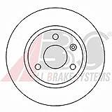 ABS 16145 Bremsscheiben - (Verpackung enthält 2 Bremsscheiben)