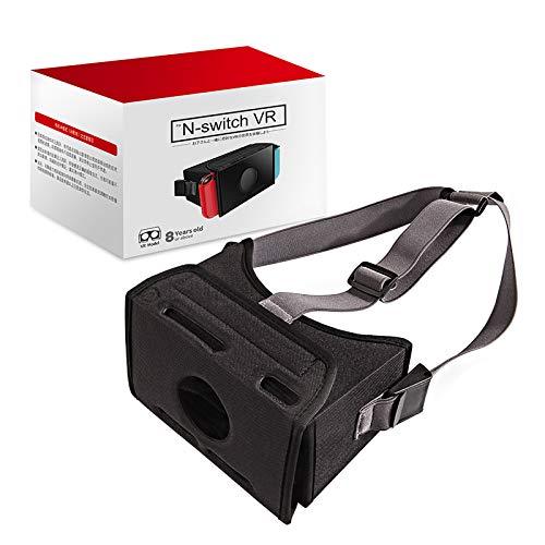 SHEAWA für Nintend Switch NS VR-Style Brille Vitural Reality Faltbare Stretch mit Klettverschlüssen