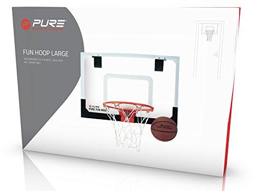 Pure2Improve Fun Hoops - Canasta de Baloncesto, Color Blanco, tamaño Large