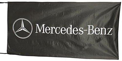 grosse-mercedes-benz-fahne-schwarzer-hintergrund-1500mm-x-900mm-of