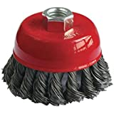 Generic Twisted Cup Brush for Removing Rust, Paint and Polishing