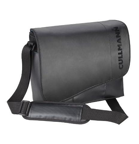 Cullmann Madrid Maxima Core 330 SLR-Kameratasche (Messenger, LKW-Planen-Material, für DSLR mit Objektiv, zusätzlichem Objektiv + Blitzgerät, Zubehör)
