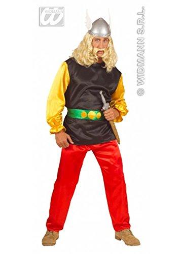 Erwachsene Mens-Asterix der Gallier-Style Kostüm Small (up to 36