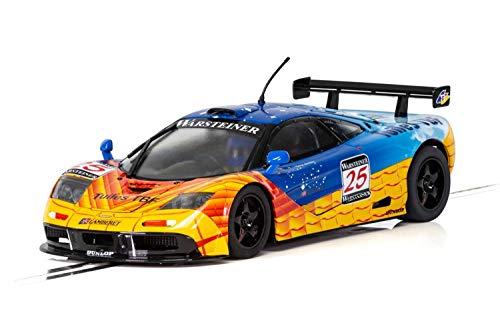 Scalextric C3917 C3917-1:32 McLaren F1 GTR 1997 Nürburgring HD, Slot Race, blau   orange