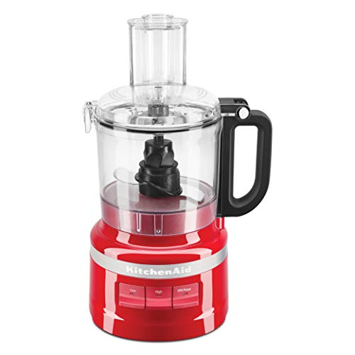 KitchenAid 5KFP0719BER 250 - Watt Food Processor 7 Cup - Empire Red