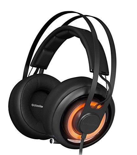 SteelSeries Siberia Elite Prism Gaming Headset-Jet Black (Certified Refurbished) - Elite Gaming-headset