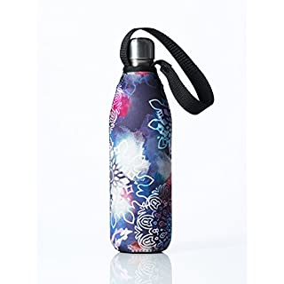 Bottleskinn by BBBYO Neoprene Insulated Carry Cover - Multiple sizes. Fits BBBYO, S'well, Minimal, Mira, Water Vault, Corkcicle, Hydroflask and Klean Kanteen steel bottles