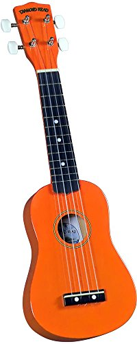 Diamond Head DU103 Ukulele orange
