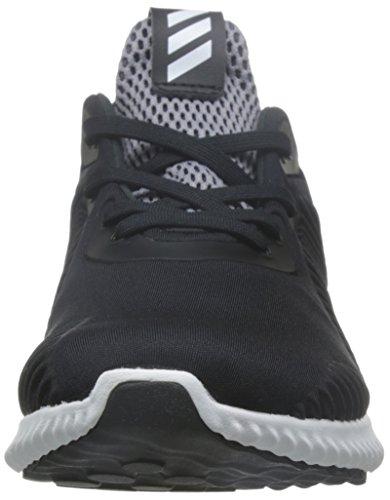 adidas Jungen Alphabounce J Turnschuhe Black (Negbas / Ftwbla / Onix)