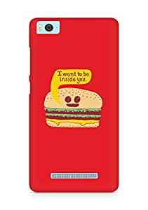 Amez designer printed 3d premium high quality back case cover for Xiaomi Mi5 (Funny Burger)