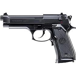 Beretta 92 FS Noir AEP Blowback 0.5J Adulte Unisexe, Taille unique
