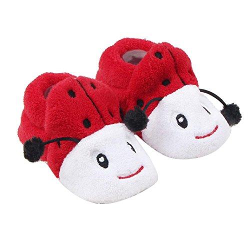 FEITONG Babyschuhe Sneaker Mode Prewalker Soft Sole Kleinkind Schuhe (0 ~ 8 Monat, Blau) Rot
