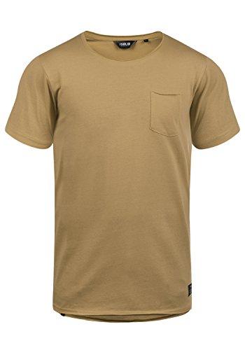 !Solid Andrej Herren T-Shirt Kurzarm Shirt mit Rundhalsausschnitt aus 100% Baumwolle, Größe:L, Farbe:Ermine (5944)
