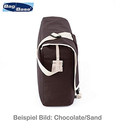 Messenger Bag Schultasche Studententasche Schultertasche – Bin müde, hab hunger mir ist kalt. (Schwarz) - 3
