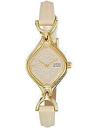 Titan Analog White Dial Women's Watch -NK2531YL01