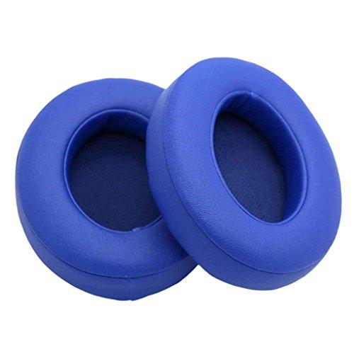 Preisvergleich Produktbild LUFA 1 Paar Ersatz-Protein-Leder-Ohrpolster Earshield Kissen Kopfhörer-Abdeckung Headset Earcaps für Studio 2.0