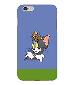 Printtech Tom & Jerry Back Case Cover for Apple Iphone 6 Plus/6S Plus
