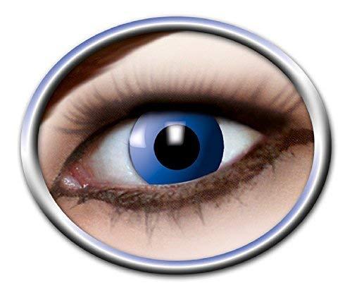 Eyecatcher Motivlinsen - farbige 3-Monats-Kontaktlinsen - blue elfe - Dunkle Elfen Kostüm Kontaktlinsen