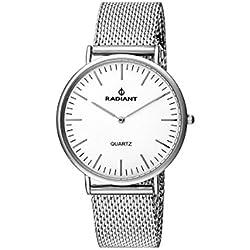 Reloj RADIANT Sunny RA377601 Unisex Malla milanesa Plateado