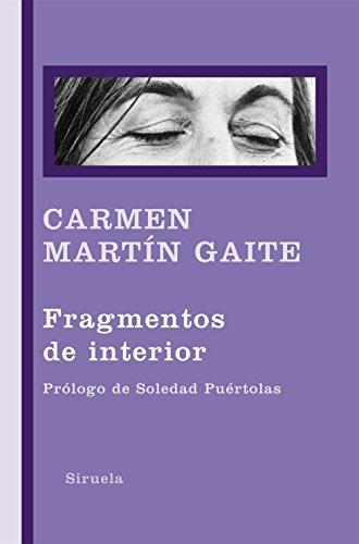 Fragmentos de interior (Libros del Tiempo nº 297) por Carmen Martín Gaite