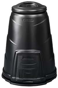 Blackwall Bac à compost Noir 330 l