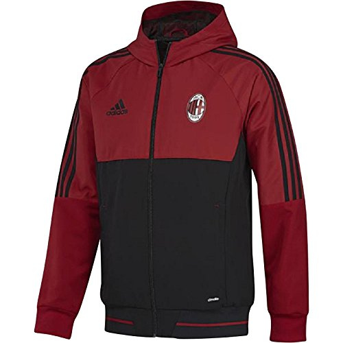adidas AC Mailand Pre JKT, Herrenjacke S Rosso - Milan-bekleidung Ac