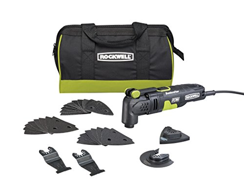 Rockwell RK5131K 3.5A Sonicrafter F30 Kit with Hyper Lock and Universal Fit System, 32-Piece by Rockwell