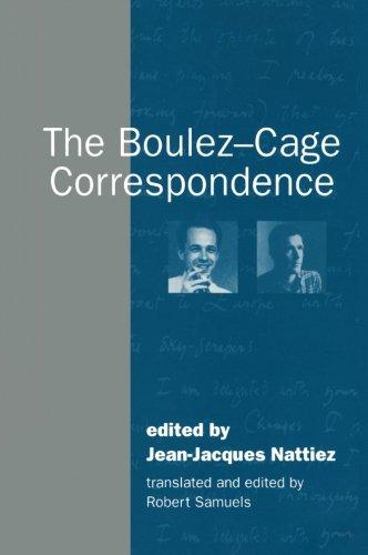 The Boulez-Cage Correspondence Paperback