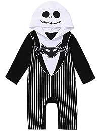 Divertido Pijama,K-Youth Disfraz Halloween Murciélago Body Bebe Niña Ropa Bebe Recien Nacido Niño Verano Bodies Bebe Niña Mono Bebés Infantil Mameluco Bebe Niños Pelele Niñas