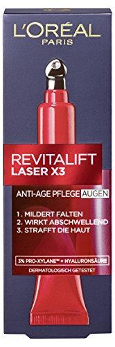 L'Oréal Paris Soins yeux RevitaLift Laser X3 15 ml