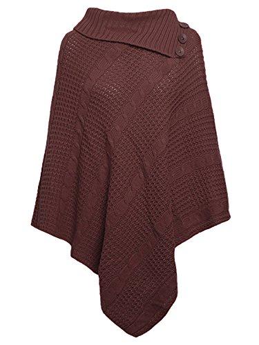 Freedom & Fashion - Poncho - Cappotto -  donna Brown