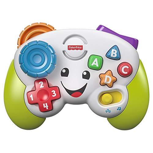 Fisher-Price FWG14 Lernspaß Spiel-Controller Lernspielzeug für Buchstaben Zahlen Formen und Farben mit 2 Spielmodi, ab 6 Monaten deutschsprachig