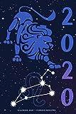 Kalender 2020 - Sternzeichen Löwe: Schöner Kalender mit Sternzeichen   Wochenplaner mit 70 Seiten   15,24 cm X 22,86 cm ( 6 X 9 Inches )