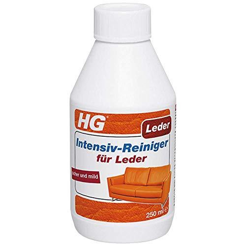 HG Intensiv-Reiniger für Leder 300 ml - das Mittel zur Lederreinigung, das sein Versprechen hält -