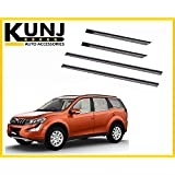 Mahindra XUV-500 Car Door Side beading moulding with 3M Adhesive Tape - Black