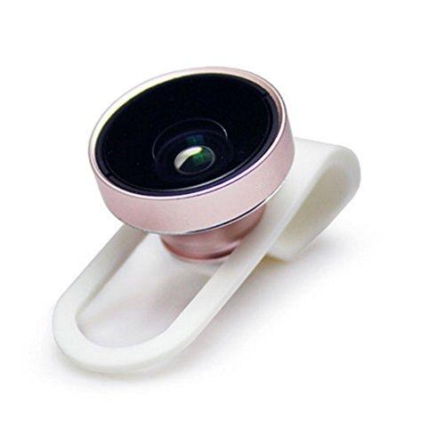 KAIMENG Ziel von 20mm, Objektiv Kamera, Act Universal Abnehmbare Fischaugenobjektiv + Weitwinkel Objektiv + Micro, color3