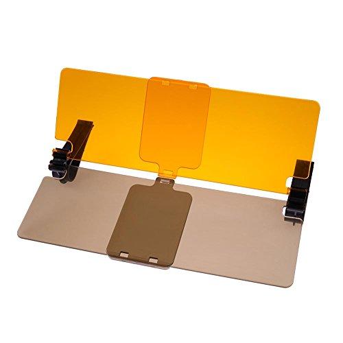 vanpower HD Auto Sonnenschutz Visier Brillen für Treiber Tag & Nacht zudem blendfrei. Spiegel Sun Viso (Tag Und Nacht Visier)