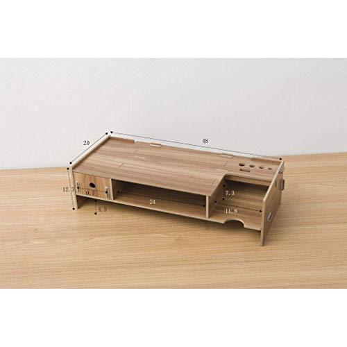 SS&LL Soportes para monitores de maderaSoportes para Pantallas Resistentes al Fuego Estable...