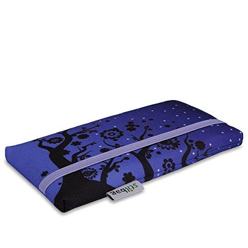 Stilbag Tasche 'MIKA' für Apple iPhone SE - Design: Tipsy Cats Velvet Night