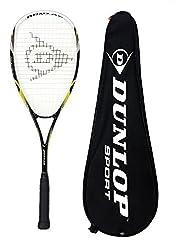 Dunlop Nanomax Pro raqueta de squash - Patrón del cordaje - 16 x 18 - Tamaño de la cabezal: 500 cm cuadrados.