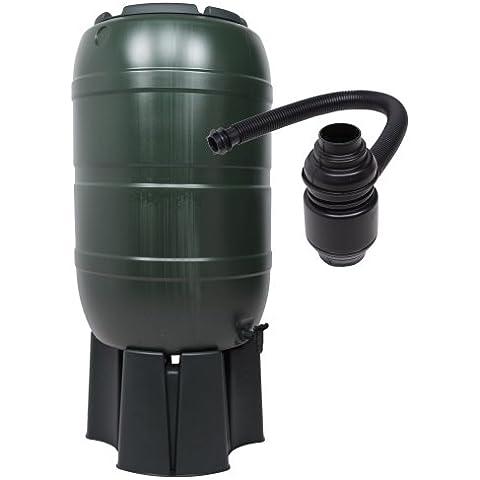 Kreher - Serbatoio di raccolta dell'acqua piovana da 210 l