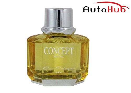 Auto Hub Concept Lemon Liquid Car Perfume For Car, Home, Office Air Freshener, 299g  available at amazon for Rs.225