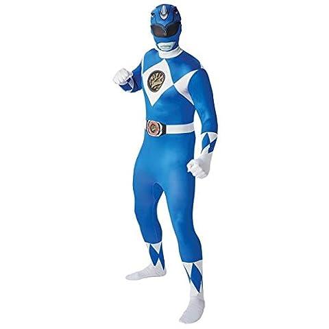 Male Power Costume Ranger - Mighty Morphin Power Rangers Blue Ranger -