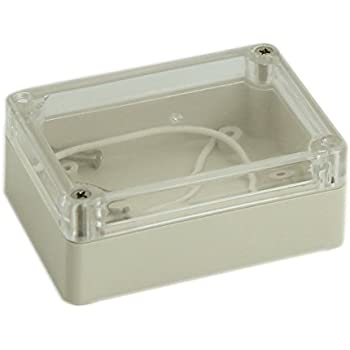 115x90x55 Waterproof Clear Cover Electronic Cable Project Box Enclosure CaseZ Lo